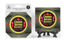 Canadian National Railway Logo Absorbent Ceramic Stone Coaster