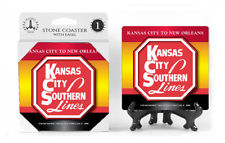 Kansas City Southern Lines Logo Absorbent Ceramic Stone Coaster