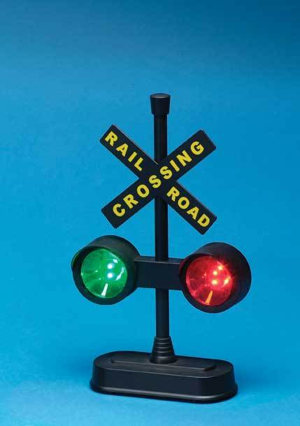 Railroad Crossing Light with Sound