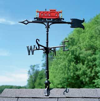 Caboose Weather Vane