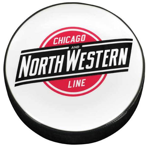 Chicago & NorthWestern Railroad Logo Stool