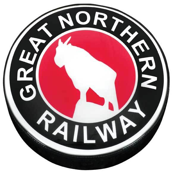 Great Northern Railway Logo Stool