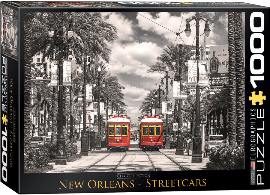NEW ORLEANS - STREETCARS