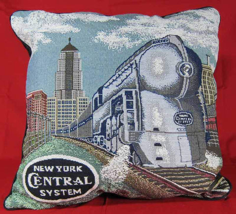 New York Central Pillow