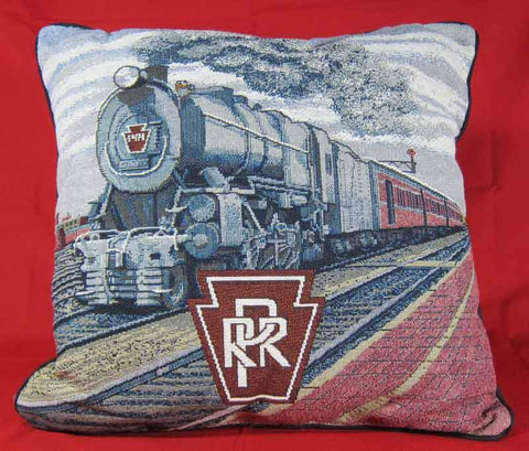 PRR Broadway Limited Pillow