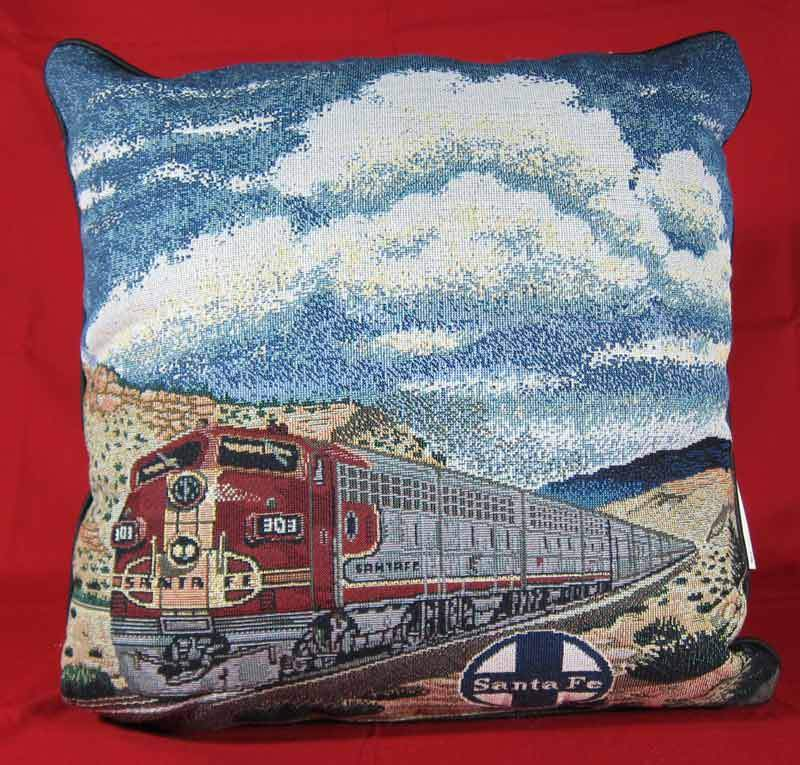 "Santa Fe ""Super Chief"" Pillow"