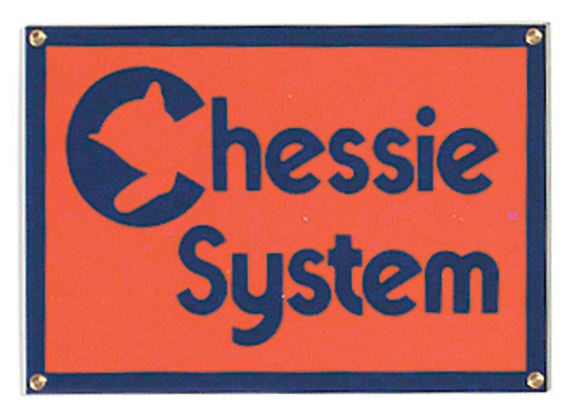 Chessie System Porcelain Sign