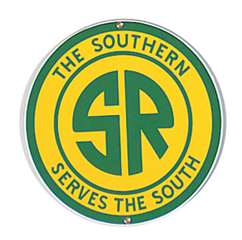 Southern Railroad Porcelain Sign