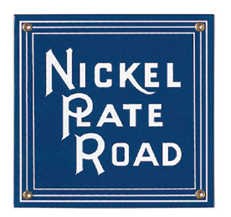 Nickel Plate Road Porcelain Sign