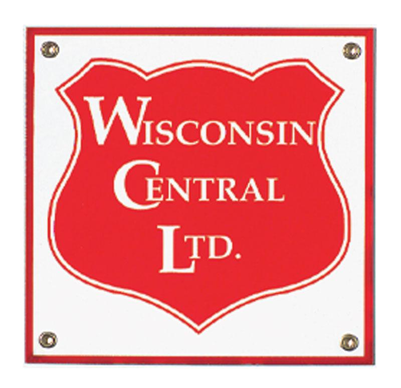 Wisconsin Central Ltd Porcelain Sign