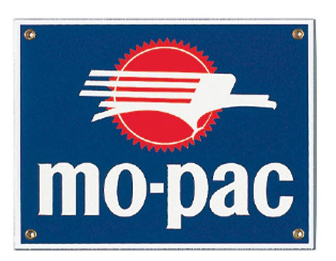 Mo-Pac Porcelain Sign