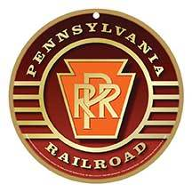 Pennsylvania Railroad Logo Plaque