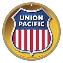 Union Pacific Logo Plaque