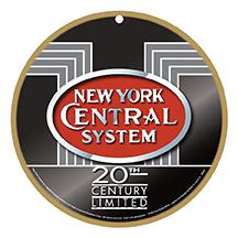 New York Central Logo Plaque