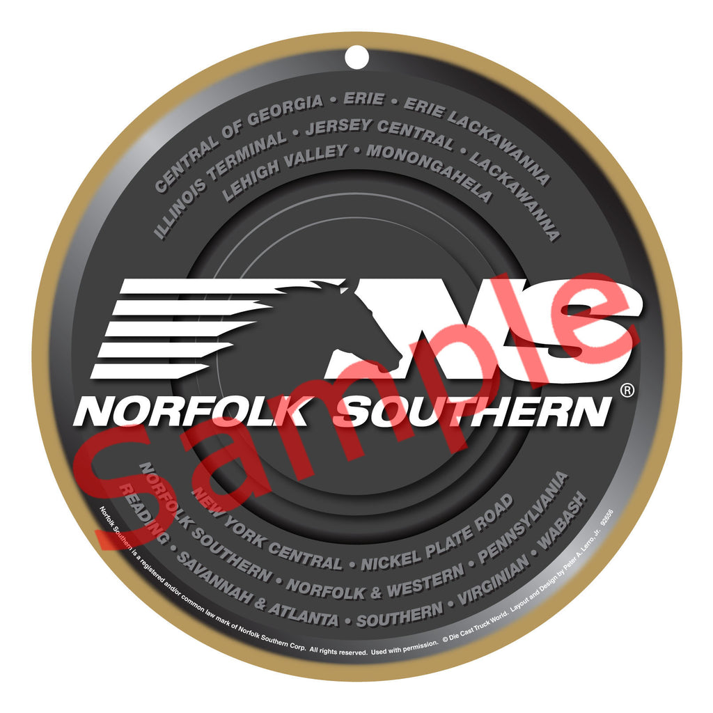 Norfolk Southern Logo Plaque