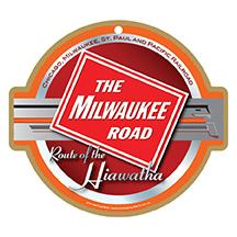 The Milwaukee Road Logo Plaque