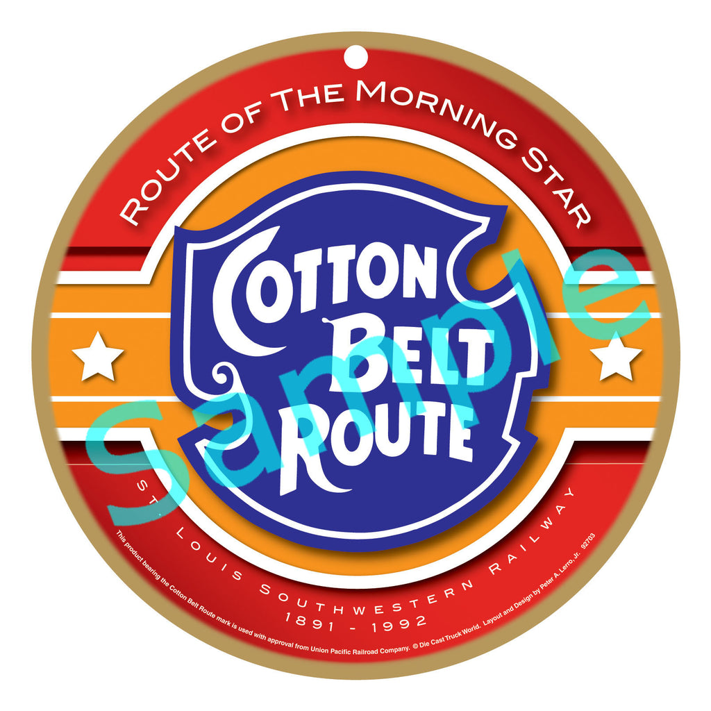 Cotton Belt Plaque