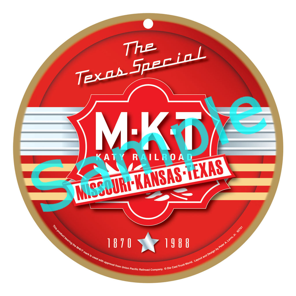 MKT - Katy Plaque