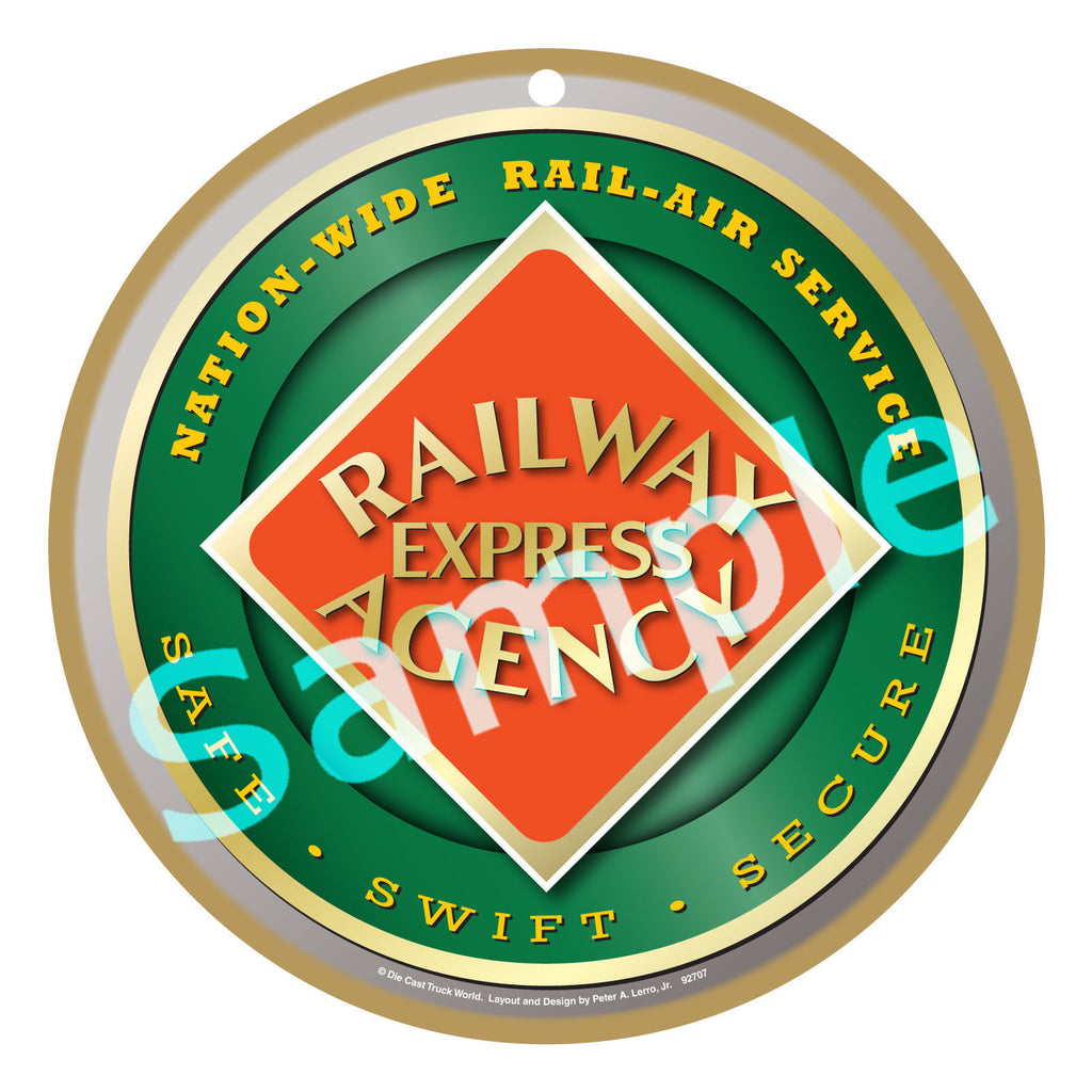 Railway Express Agency Plaque