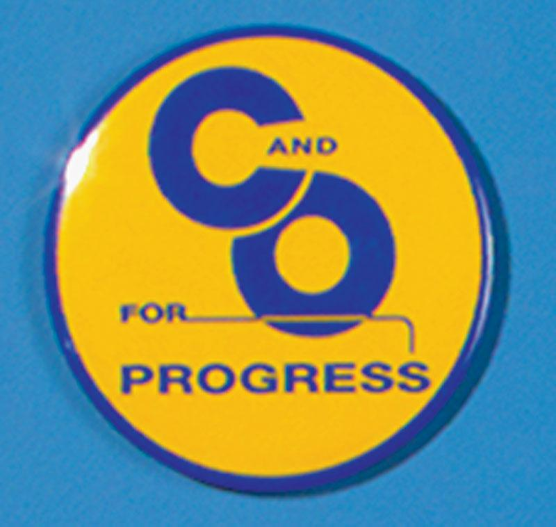 C&O For Progress Magnet