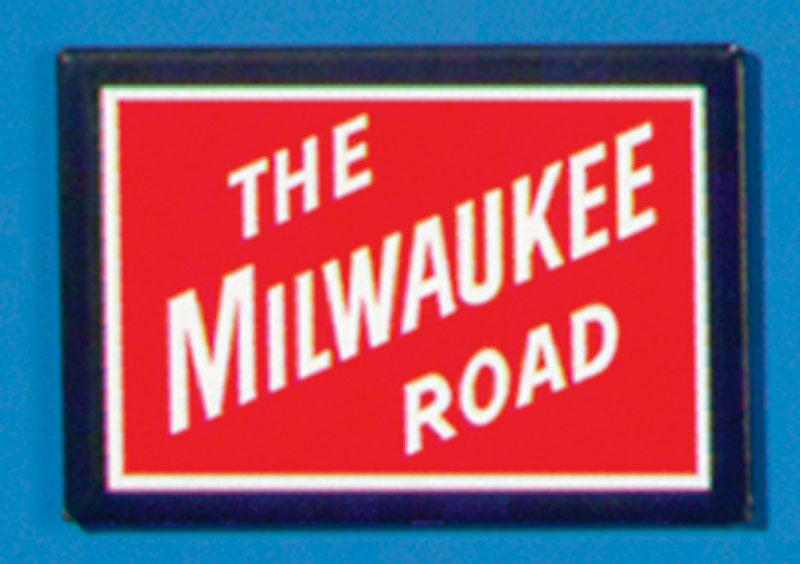 Milwaukee Road Magnet