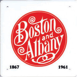 Boston and Albany Sign