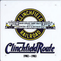 Clinchfield Route Sign