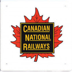 Canadian National Railways Sign