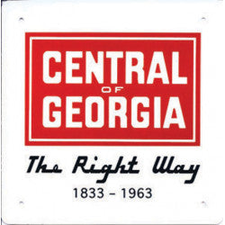 Central of Georgia Sign
