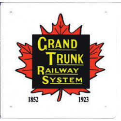 Grand Trunk  Railway Sign
