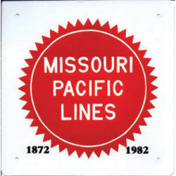Missouri Pacific Lines Sign
