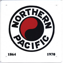 Northern Pacific Sign