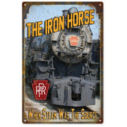 The Iron Horse PRR Sign