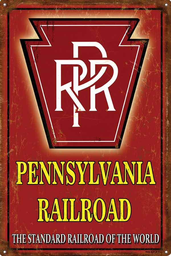 PRR Standard RR of the World Sign