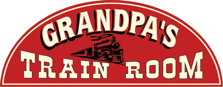 Grandpa's Train Room Sign