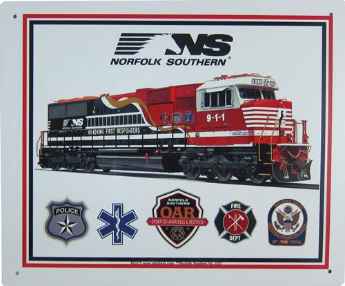 NS First Responders Sign