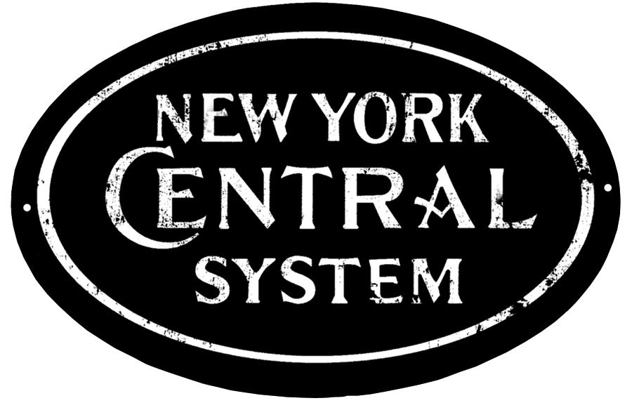New York Central Sign