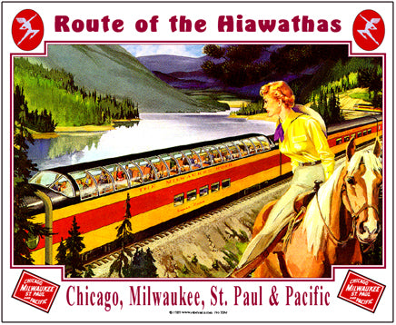 Milwaukee Tin Railroad Sign