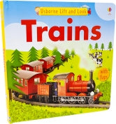 Trains Usborne Lift and Look Book