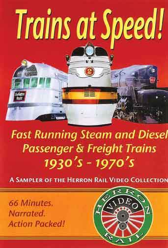 Trains at Speed DVD