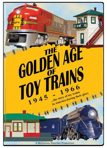 The Golden Age of Toy Trains 1945-1966 DVD