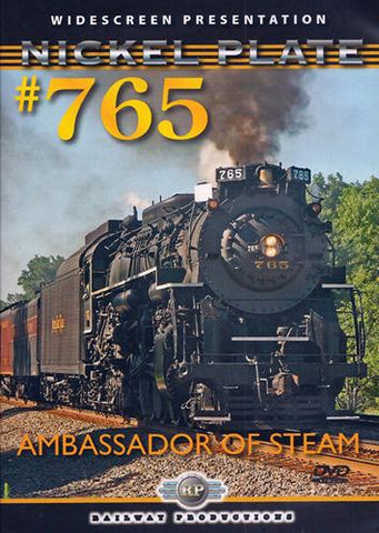 Nickel Plate 765 - Ambassador of Steam DVD