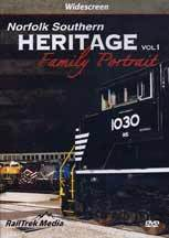 Norfolk Southern Heritage Family Portrait DVD