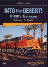 Into the Desert! BNSF's Transcon DVD