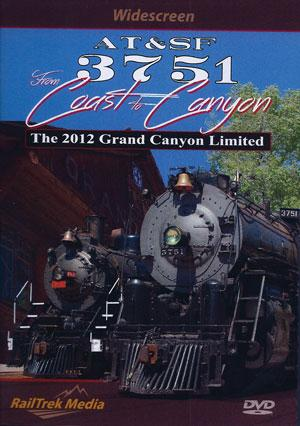 AT&SF 3751 from Coast to Coast DVD