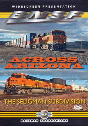 BNSF Across Arizona DVD