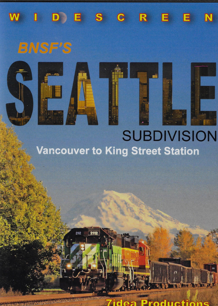 BNSF's Seattle Subdivision DVD