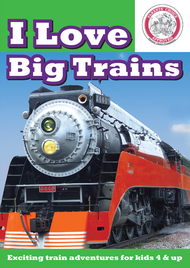 I Love Big Trains: All Real Trains DVD