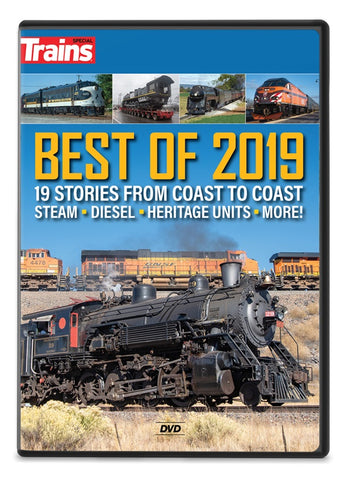 Trains: Best of 2019 DVD