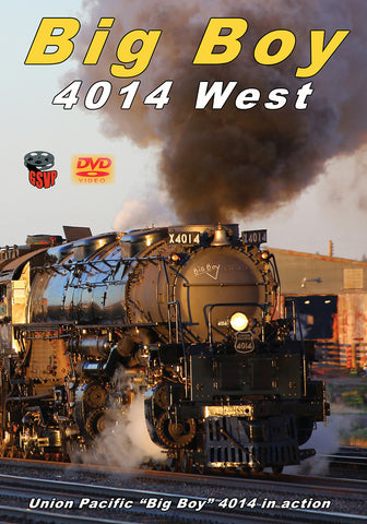 Big Boy 4014 West DVD